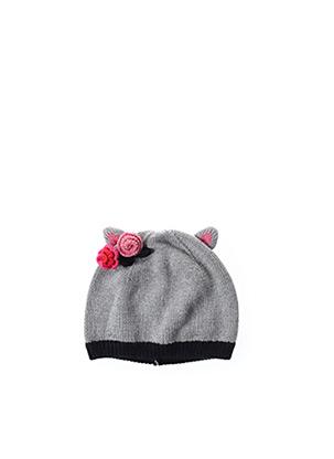 Bonnet gris CATIMINI pour fille