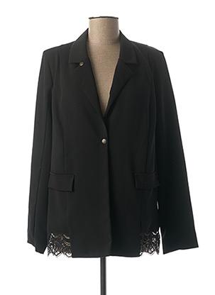 Veste chic / Blazer noir MADO ET LES AUTRES pour femme