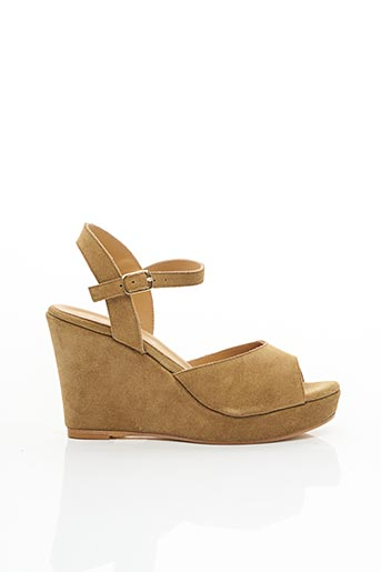 Sandales/Nu pieds beige FIORINA pour femme