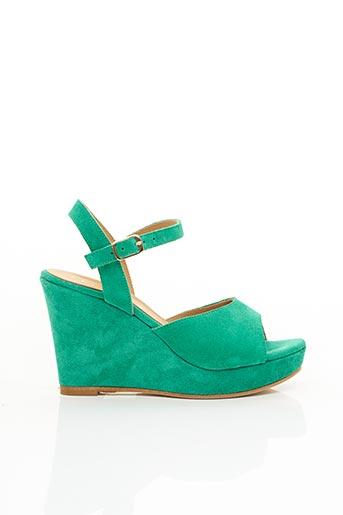 Sandales/Nu pieds vert FIORINA pour femme