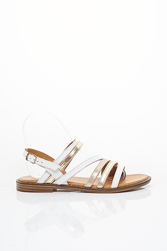 Sandales/Nu pieds blanc COCO & EVE pour femme
