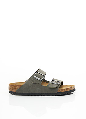 Sandales/Nu pieds vert BIRKENSTOCK pour homme