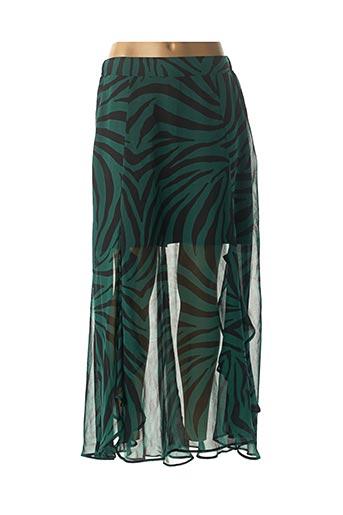 Jupe longue vert MORGAN pour femme