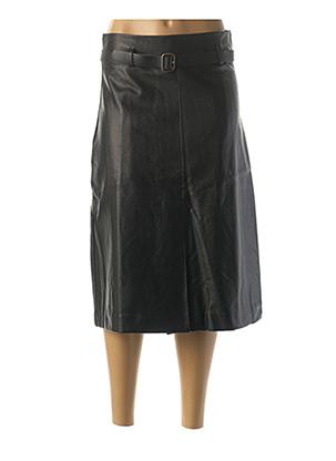 Jupe mi-longue noir MOLLY BRACKEN pour femme