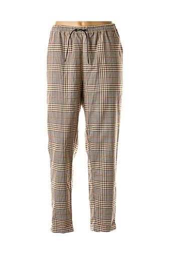 Pantalon casual beige BLEND SHE pour femme