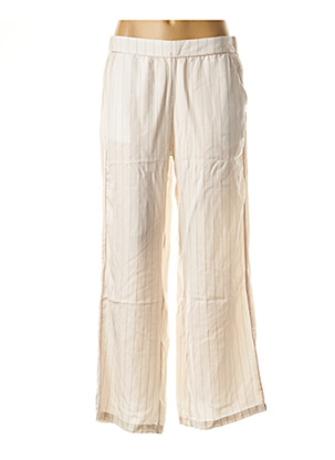 Pantalon casual blanc ATELIER BOHÈME pour femme