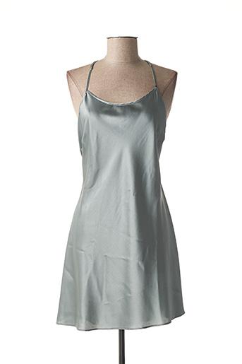 Nuisette/combinette gris MARJOLAINE pour femme
