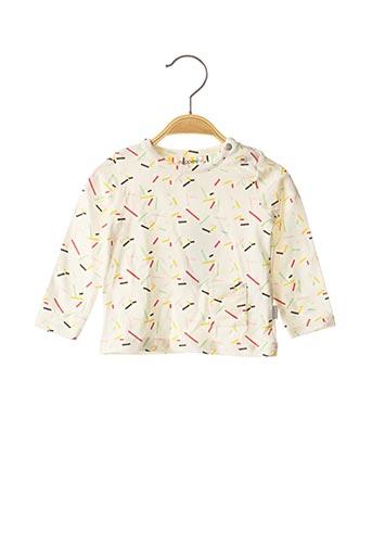 T-shirt manches longues beige NOPPIES pour fille