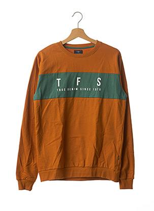 Sweat-shirt orange TIFFOSI pour garçon