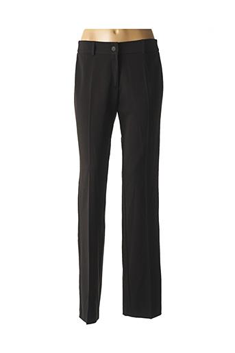 Pantalon casual noir ANDAMIO pour femme