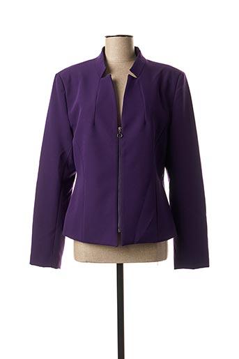 Veste chic / Blazer violet EDAS pour femme