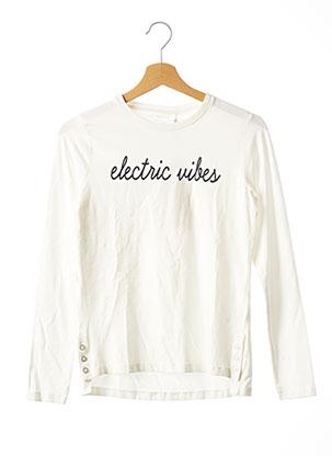 T-shirt manches longues beige NAME IT pour fille