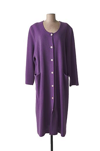 Robe de chambre violet EGATEX pour femme