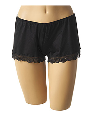 Pyjashort noir MEY pour femme