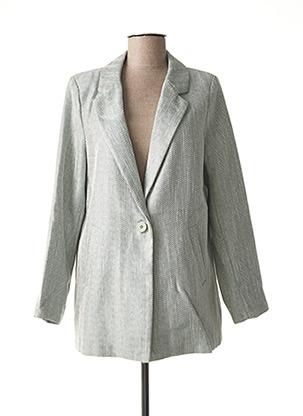 Veste chic / Blazer vert ESCANDELLE pour femme