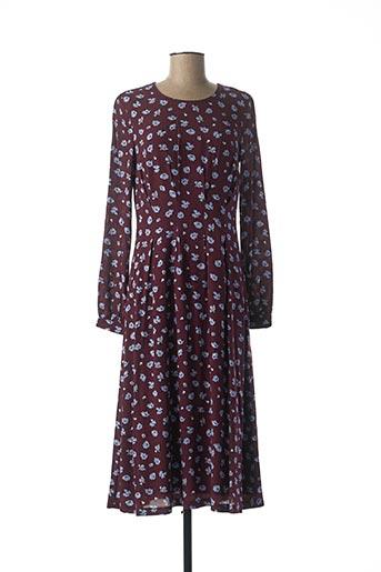 Robe longue violet EDC BY ESPRIT pour femme