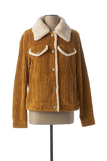 Veste casual marron EDC BY ESPRIT pour femme