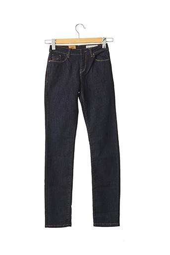 Jeans coupe slim bleu ESPRIT pour femme