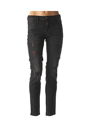 Jeans skinny noir KOCCA pour femme