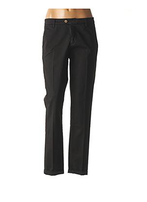 Pantalon chic noir KOCCA pour femme