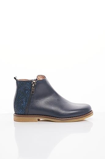 Bottines/Boots bleu ACEBOS pour fille