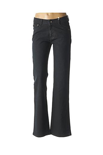 Jeans coupe droite noir CMK pour femme