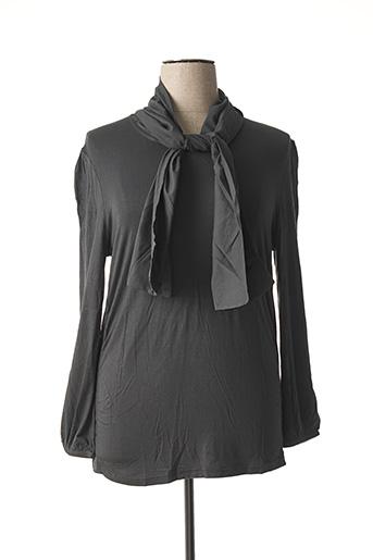 T-shirt manches longues gris CAPUCCINO pour femme