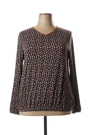 T-shirt manches longues violet TELMAIL pour femme