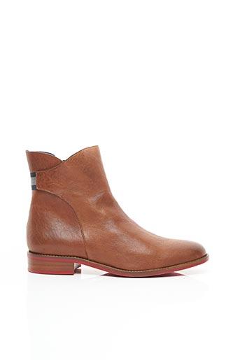 Bottines/Boots marron HE SPRING pour femme