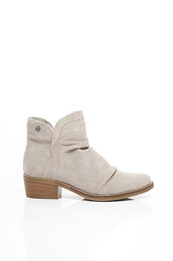 Bottines/Boots gris TAMARIS pour femme