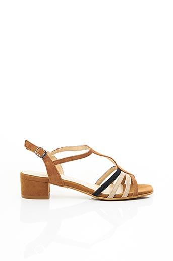 Sandales/Nu pieds marron TAMARIS pour femme