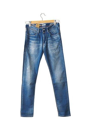 Jeans skinny bleu TEDDY SMITH pour femme