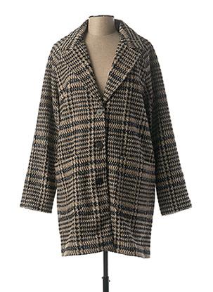Manteau long noir BEST MOUNTAIN pour femme