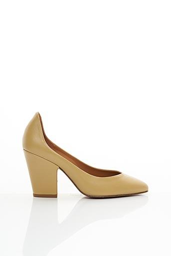 Escarpins beige BY FAR pour femme