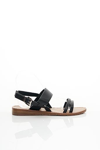 Sandales/Nu pieds noir CHATTAWAK pour femme