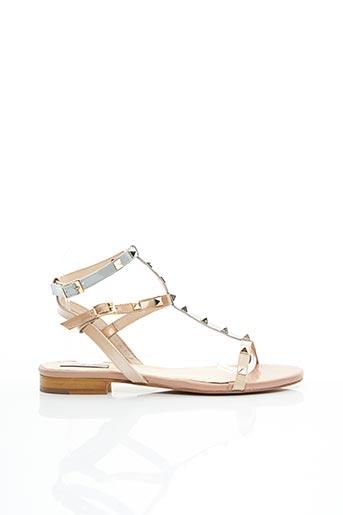 Sandales/Nu pieds rose APOLOGIE pour femme