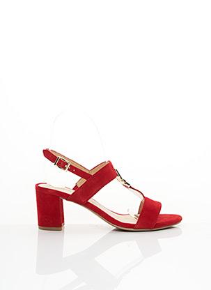 Sandales/Nu pieds rouge CAPRICE pour femme