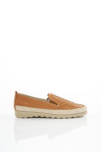 Chaussures de confort marron FLEXX pour femme