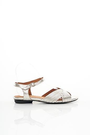 Sandales/Nu pieds gris ANONYMOUS COPENHAGEN pour femme