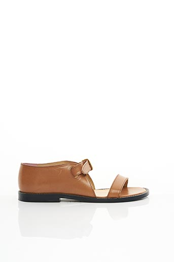Sandales/Nu pieds marron AN HOUR AND A SHOWER pour femme