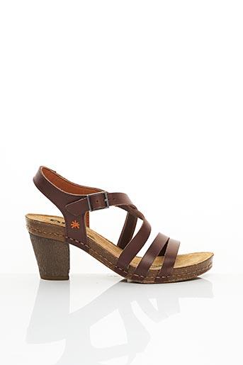 Sandales/Nu pieds marron ART pour femme