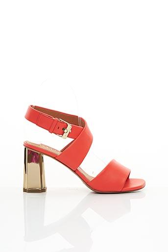 Sandales/Nu pieds rose CLERGERIE pour femme