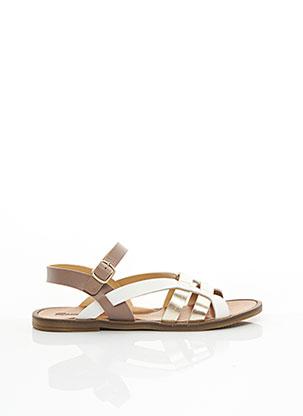 Sandales/Nu pieds marron ROMAGNOLI pour fille