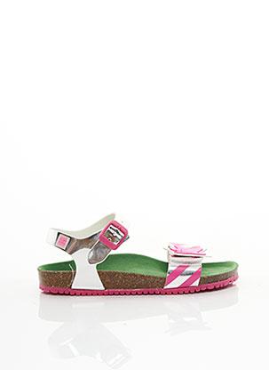 Sandales/Nu pieds rose AGATHA RUIZ DE LA PRADA pour fille