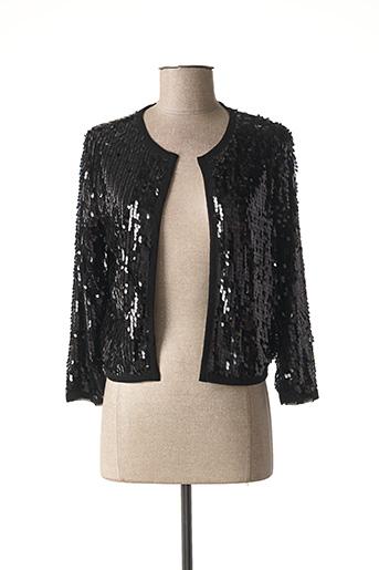 Veste casual noir CHERRY COUTURE pour femme