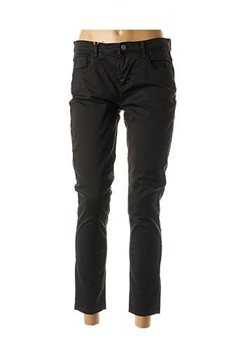 Pantalon 7/8 noir DONA LISA pour femme