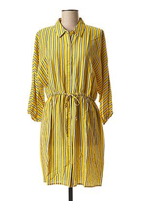 Robe courte jaune BEST MOUNTAIN pour femme