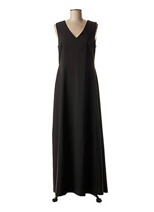 Robe longue noir ICHI pour femme