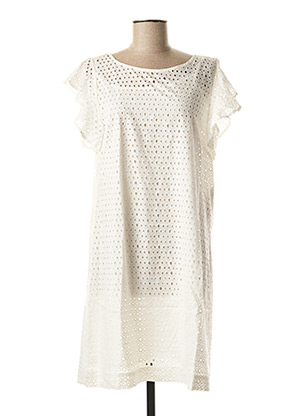 Robe mi-longue blanc VILA pour femme
