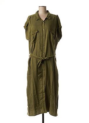 Robe mi-longue vert BEST MOUNTAIN pour femme